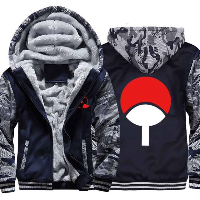 NARUTO CAMOUFLAGE ZIP-UP COAT HOODIE JACKET (5 VARIAN)
