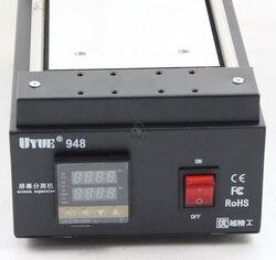 UYUE 948 7 cal czarny Metal ekran dotykowy szklany panel Separator dla telefony LCD narzędzia ręczne naprawy podział maszyna 948