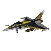 1:72 échelle Dassault Rafale Fighter, alliage moulé sous pression modèle militaire armée, Collectables d'avion, décor de bureau, cadeaux de noël