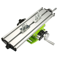 Multi functional Worktable Bench Drill Vise Fixture Milling Drill Table X and Y axis Adjustment Coordinate Table For Mini Drill