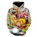 Boy Anime Fashion Casual Harajuku Cool Jacket Boy Sweatshirt Boy Clothes 3d Cartoon Hoodie 2021 Trend