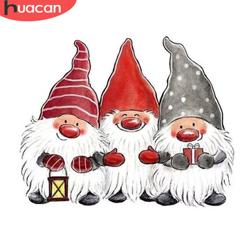 HUACAN 5d Diamond Painting Santa Claus With Diamonds Christmas Embroidery Full Drill Square Mosaic - discount item  38% OFF Arts,Crafts & Sewing