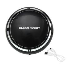 Mini Wireless Aspirador USB Rechargeable Clean Robot with USB Charging Intelligent Cartoon Sweep Robot Drop shipping(China)