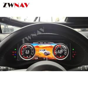 Para Jeep Wrangler 3 JK 2010 2011 2012 2013-2017 LCD, Android, instrumento de pantalla de salpicadero, unidad principal de navegación GPS Multimedia