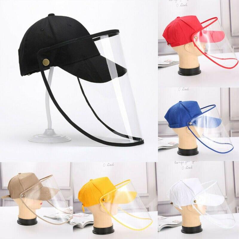 2020 Hot Sale Anti-spitting Baseball Cap Safety Hat Anti Fog Dust Splash-proof Hat Work Face Protection Cap