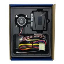 Universal 12V Passive Keyless Entry Car Alarm System Push Bu