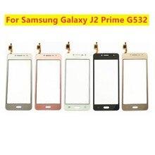 Протестированный сенсорный экран с цифровым преобразователем для Samsung Galaxy J2 Prime G532 SM G532 G532F, передняя стеклянная панель, стеклянный объектив