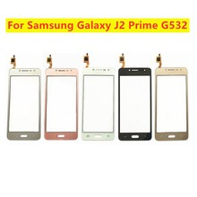 Test için dokunmatik ekran Digitizer sensörü Samsung Galaxy J2 başbakan G532 SM G532 SM G532F G532F ön cam Panel cam Lens