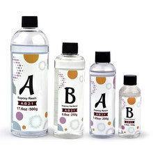 2:1 Clear Epoxy Resin AB Glue High Transparent Glue For Resin Mold Silicone Mold DIY Resin Jewelry Making Accessories 350g/750g