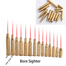 Red Dot Laser Brass Sight Cal Cartridge Sights For .308 .45 .38 9mm Tactical Hunting Accessories