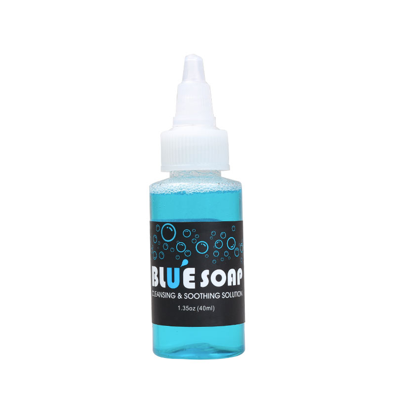 Free Ship Bottled Cleaning Tattoo Kit Useing Medical Supply Blue Soap  Skin Clean Accessories