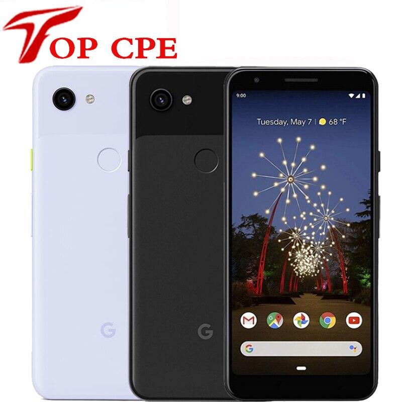 Google Pixel 3A 3A XL Оригинальный разблокированный GSM 4G 5,6 ''670 МП и 8 Мп Восьмиядерный Snapdragon 4 Гб 64 ГБ Android мобильный телефон