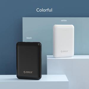 Image 5 - ORICO 5000mAh Mini Power Bank Portable Charging External Battery Slim Powerbank Poverbank 5000 mAh For iphone Xiaomi Smartphone