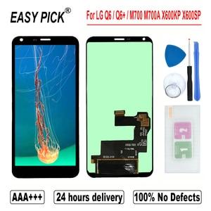 Image 2 - ل LG Q6 M700A M700N US700 M703 M700H M700Y US700 M700TV شاشة الكريستال السائل مجموعة المحولات الرقمية لشاشة تعمل بلمس ل LG Q6 + المزدوج/Q6 زائد