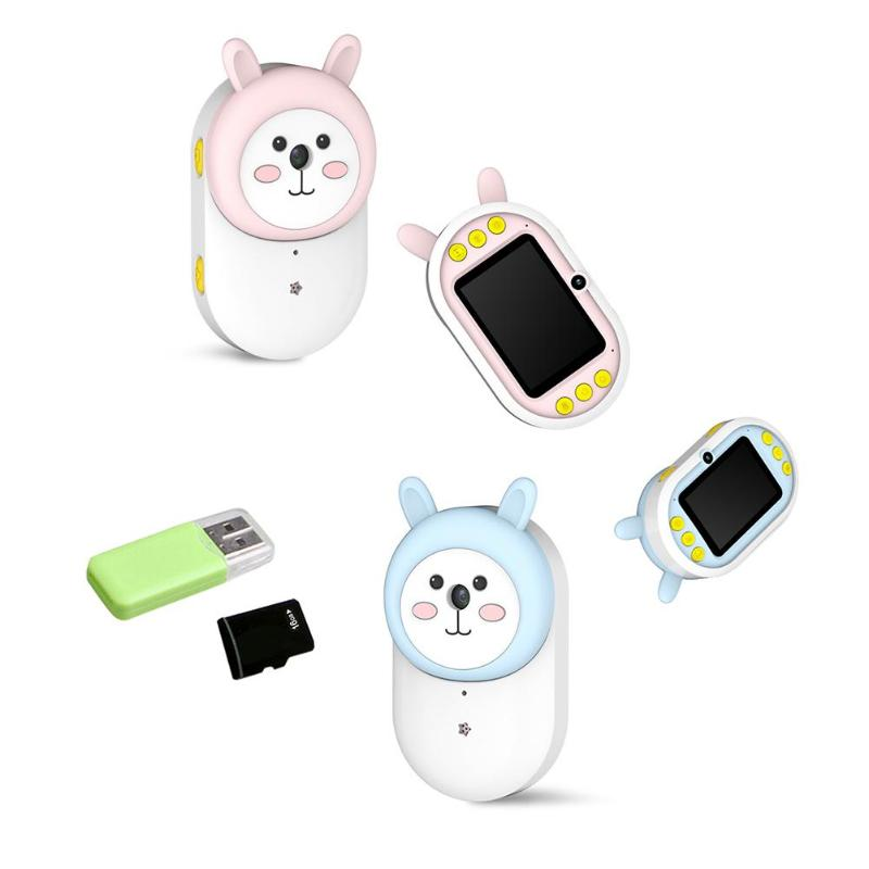 Children's Camera  Digital Camera Digital Zoom /16GB Memory Card Mini Action Camcorder Kid Camera