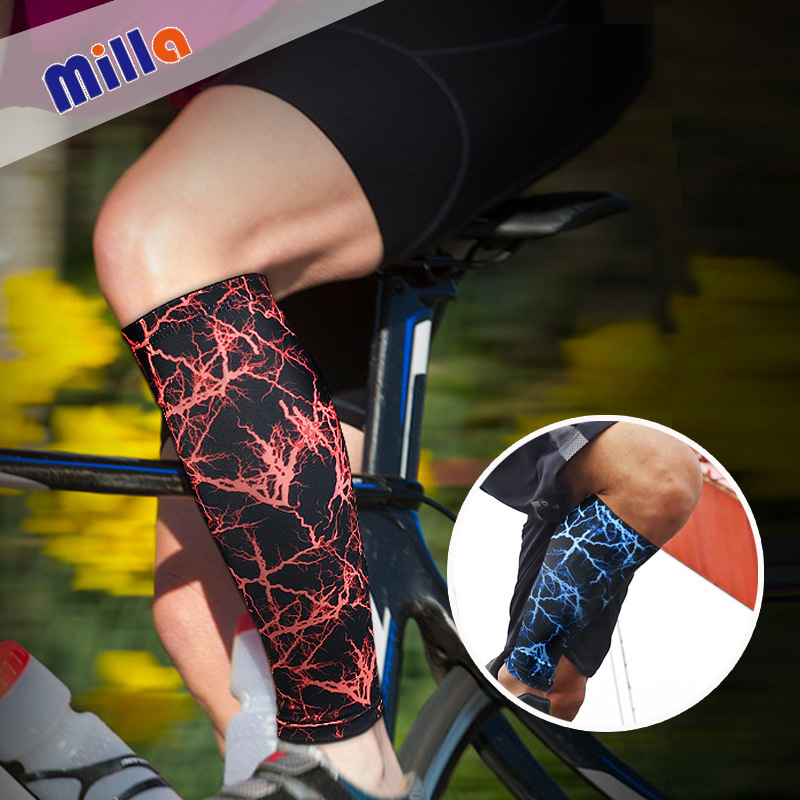 Football Leg Protector Breathable Pressure Shrinkage Knee Guard Pants Socks Outdoor Basketball Mountain Climbing Riding Running