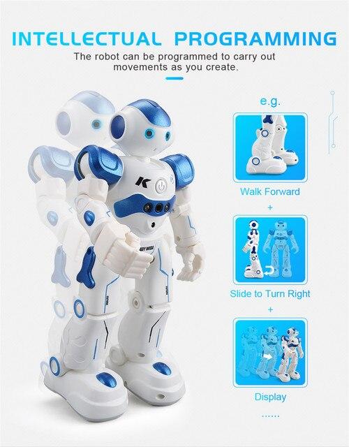 كادي-روبوت ذكي يعمل بالتحكم عن بعد مع جهاز تحكم عن بعد ويسو ، لعبة إلكترونية ، إيماءات ، حساس يعمل باللمس ، لعبة رقص ذكية للأطفال 5