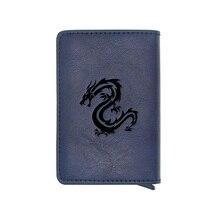 Unique Dragon Design Credit Card Wallet