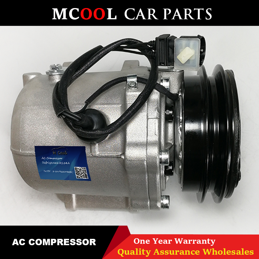 for AC Compressor For <font><b>BMW</b></font> <font><b>E30</b></font> E28 E24 325e 64528390468 64521386464 64528385713 64528385712 64528391203 64521386948 64521380155 image
