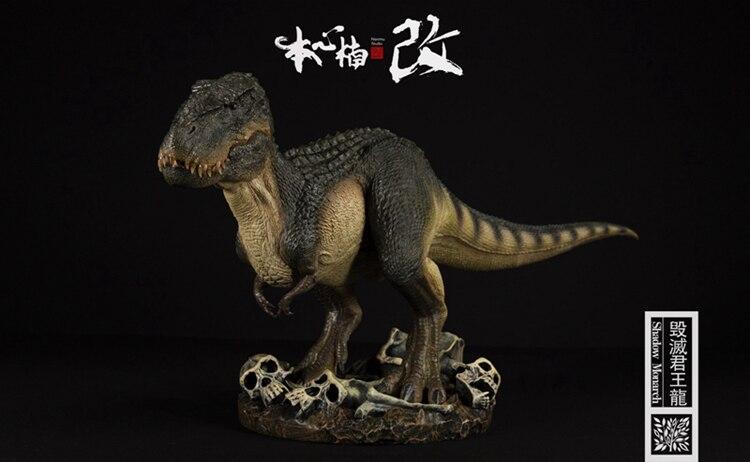 1:35 древесина фебе Vastatosaurus Рекс тени Monarch доисторических Животные игрушка-динозавр подвижн зеленый цвет роскошная версия воздушного шара с ...