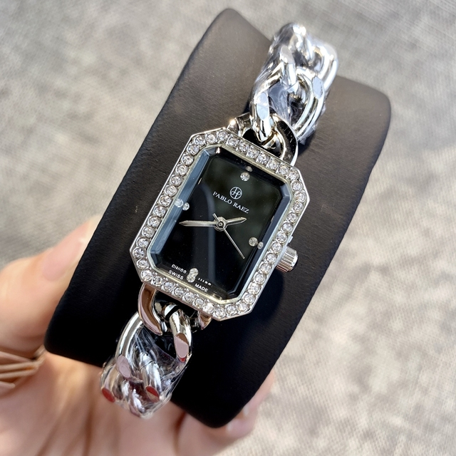 PABLO RAEZ Hot sale Fashion luxury watch Women clock женские часы wristwatch Quartz High quality Wristwatch relogio feminino