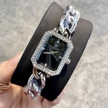 Pablo raez venda quente moda relógio de luxo feminino relógio de pulso de quartzo de alta qualidade relogio feminino