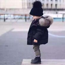 Kurtki zimowe dla dzieci parki dla dziewczynek chłopcy ciepłe grube aksamitne płaszcze dla dzieci odzież wierzchnia dla niemowląt odzież wierzchnia dla niemowląt tanie tanio COTTON about 500g CN (pochodzenie) Na co dzień Stałe REGULAR Outerwear Coats Z kapturem Jackets zipper Unisex Pasuje prawda na wymiar weź swój normalny rozmiar