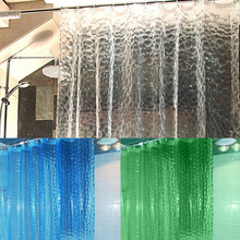 1.8*1.8m  Moldproof Waterproof and Moldproof  3D Thickened Bathroom Bath Shower Curtain
