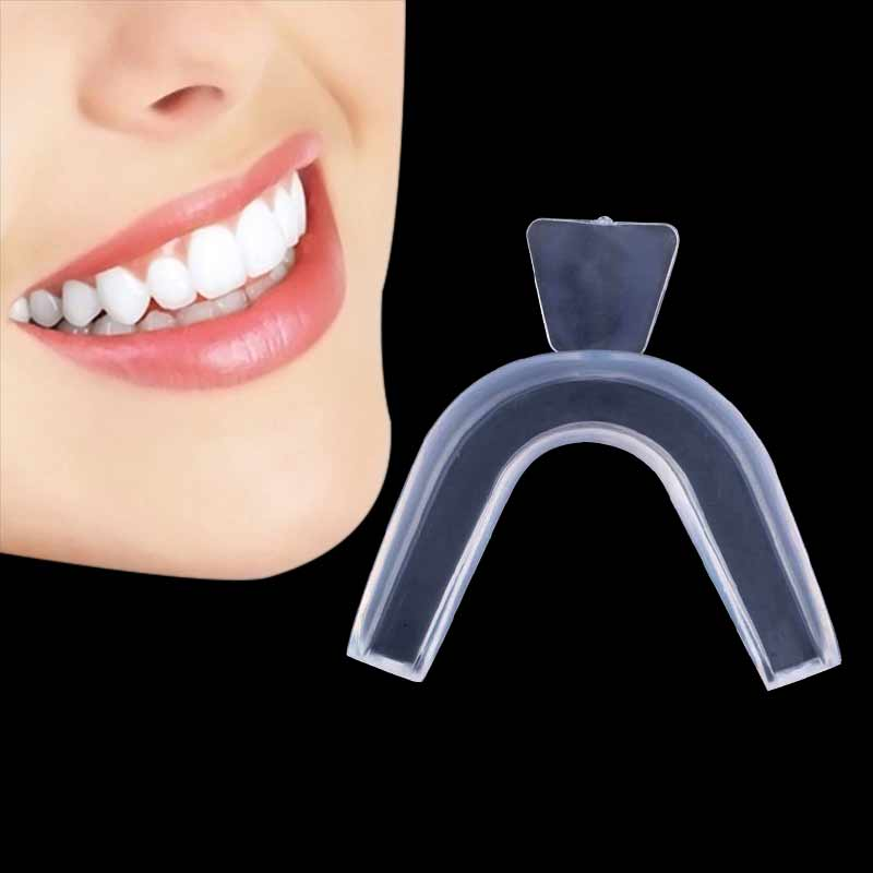 1Pc/set Transparent Night Guard Gum Shield Mouth Teeth Whitening Trays For Bruxism Grinding Dental Oral Hygiene Braces For Teeth