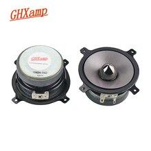 GHXAMP 3 inç tam aralıklı hoparlörler Woofer orta Tweeter Bullet örgülü Pot kauçuk kenar hoparlörler DIY 4OHM 20W