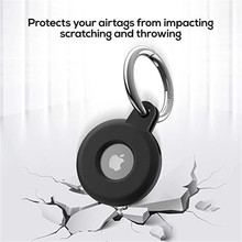 Protective Cover For Aircovered AirTag Case Silicone Protector Bumper Case Compatible with Apple AirTags Tracker Buckle