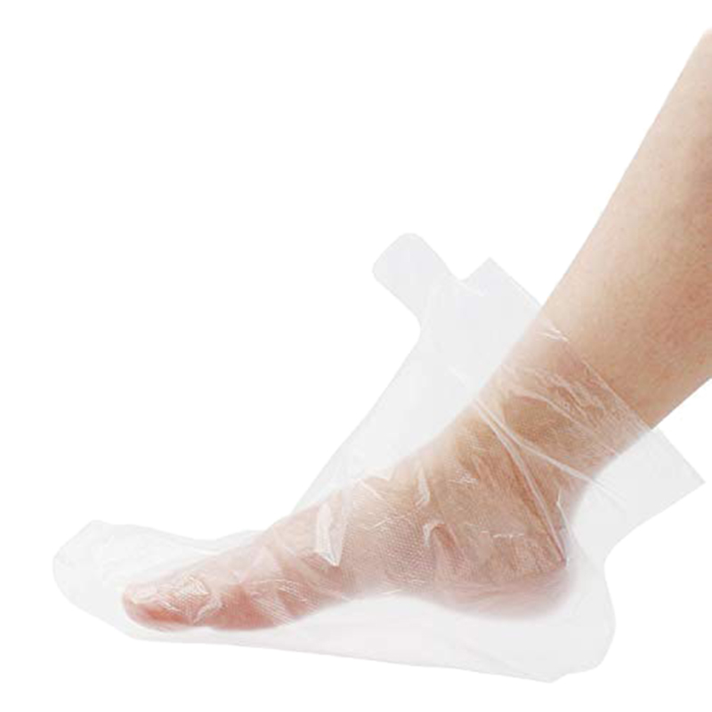 200Pcs Paraffin Wax Liners For Feet,Larger Thicker Thermal Therapy Plastic Socks Liners,Paraffin Spa Therabath Foot Protectors F