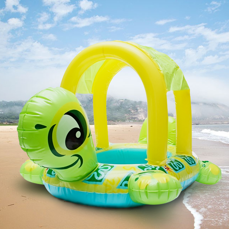 High Quality Baby Kids Tortoise Shape Inflatable Pool Float Seat Boat Water Swim Ring Hot Sale Swim Toys Baby Care Water Sports