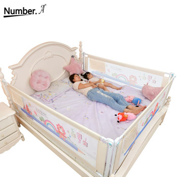 foldable child safety barrier baby fence playpen bed rail fencing gate playground for kids railing for children bed side bumper