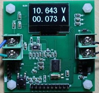 MSP430AFE253 Development Board OLED12864 High Precision Voltmeter Ammeter