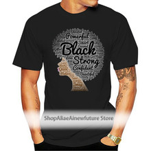 Fashion Natural Hair Afro Art For African Americans Tagless Tee T-shirt Trendy Women Tshirt