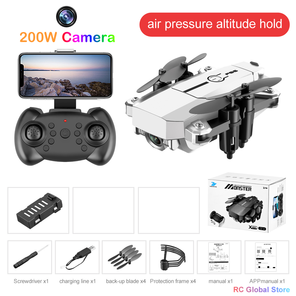 RC Remote Control Drone Quadrocopter UAV with 4K Professional Camera Dron HD WIFI Quadcopter Helicopter One-Key Return Toy