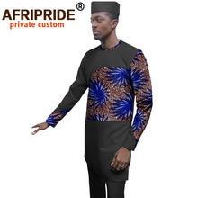 Комплект Африканской мужской одежды рубашки с принтом Женская