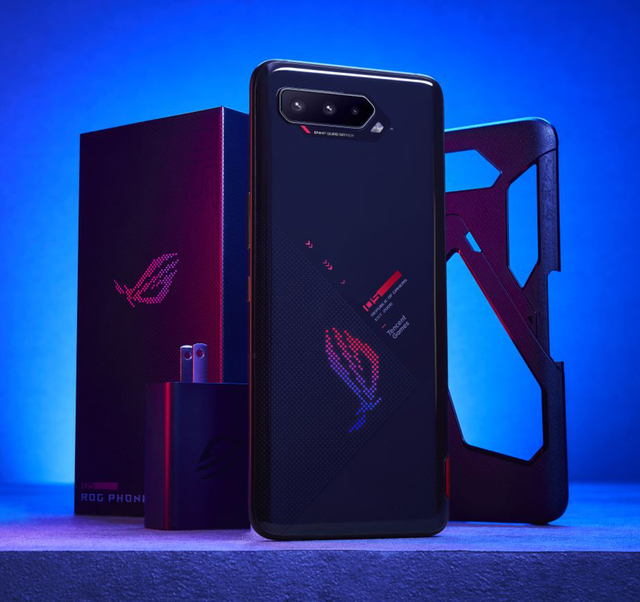 Global Rom ASUS ROG 5 5pro 5G Gaming Smartphone 16GB 256GB Snapdragon888 Android 11 Mobil phone 6000Mah Battery 65W Fast charger 6