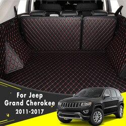 Phía Sau Thân Cây Thảm Đuôi Hàng Hóa Miếng Lót Khay Boot Lót Thảm Lót Sàn Cho Jeep Grand Cherokee 2011 2012 2013 2014 2015 2016 2017