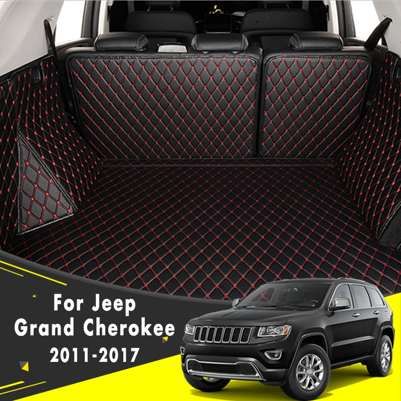 Rear Trunk Mat Tail Cargo Pad Tray Boot Liner Floor Carpet For Jeep Grand Cherokee 2011 2012 2013 2014 2015 2016 2017