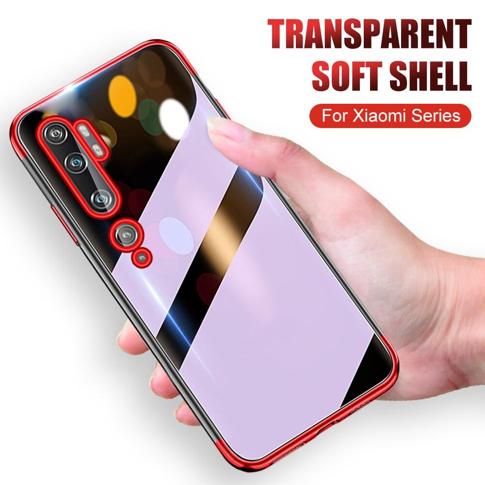 Прозрачный силиконовый чехол для телефона xiaomi Note 10 pro CC9 pro, мягкий чехол для телефона xiaomi Note10 pro Note 10pro CC9pro