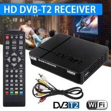 1SET TV Box Video Receiver Mini HD DVB-T2 K2 WiFi Terrestria