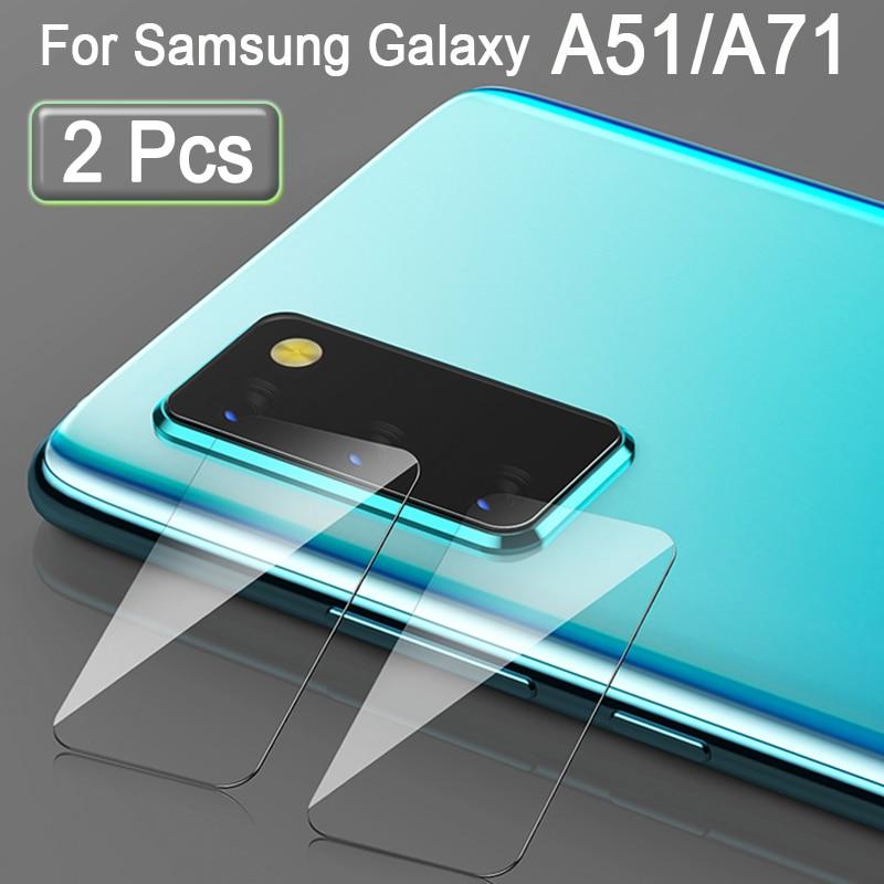 A71 Camera Protector For Samsung Galaxy A51 A 71 51 Lens Protective Glass Len Samsunga51 Samsunga71 Safety Protect Film 2 Pcs
