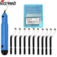 Niceyard manivela de borda nb1100, cortador de borda, manuseio para tubo de cobre, peças de ferramenta de raspador bs1010