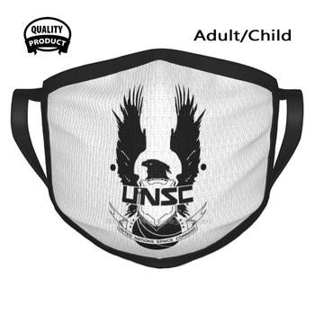 Black Friday Sale - Unsc Fashion Men Women Outdoor Sport Mask Mouth Masks 80 Unsc Odst Master Chief Xbox Reach Military image