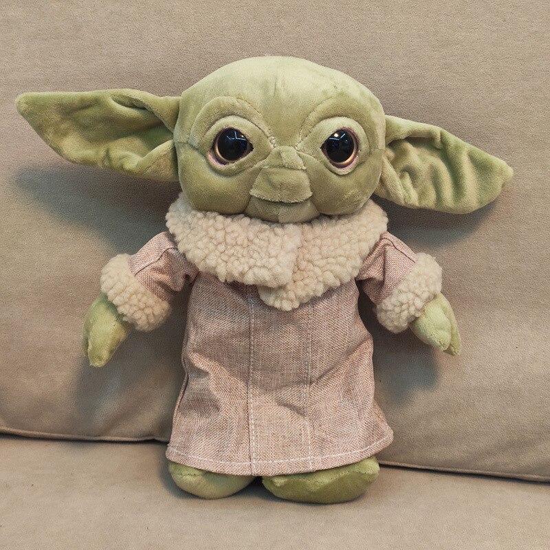 10cm/30cm Kawaii Baby Yoda Plush Dolls Star War Yoda Cartoon Anime Soft Stuffed Doll Kids Children Birthday Gift
