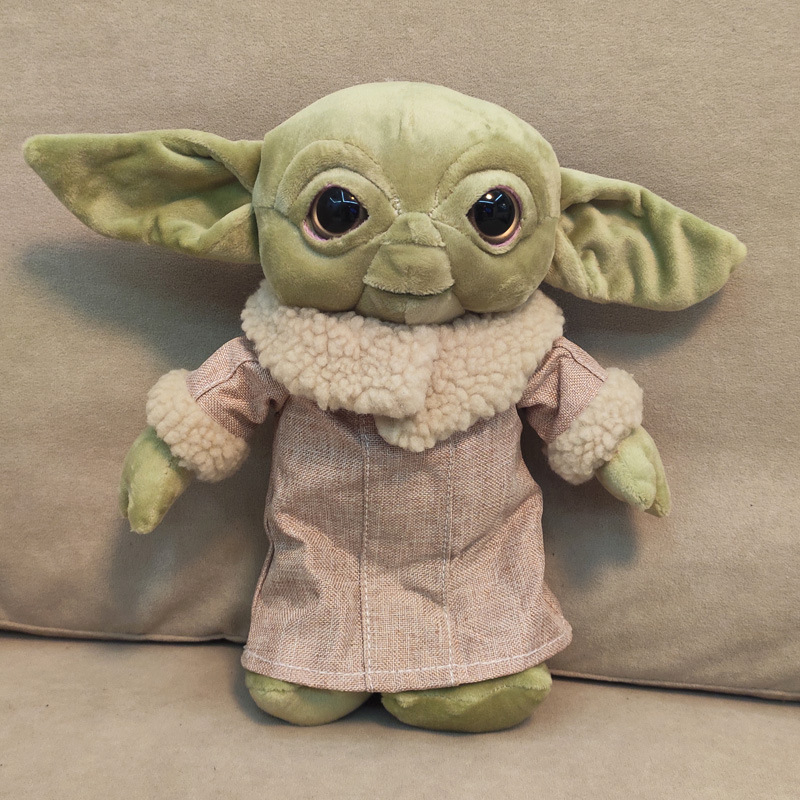 Cute Baby Yoda Plush Doll Toys Kawaii Baby Yoda Stuffed Animal Toy Children Kids Baby Toys