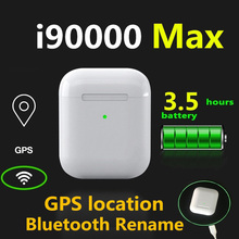 Original i90000 Max Tws wireless Headphones Mini  Bluetooth stereo headset Air2 sport inear earphone Earbuds stand by Rename GPS