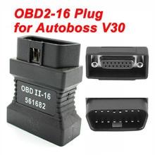 ראשי מבחן OBDII 16pin ממשק עבור Autoboss V30 עלית רכב אבחון סורק 16 פין obd2 זכר 15PIN יציאת מחבר מתאם